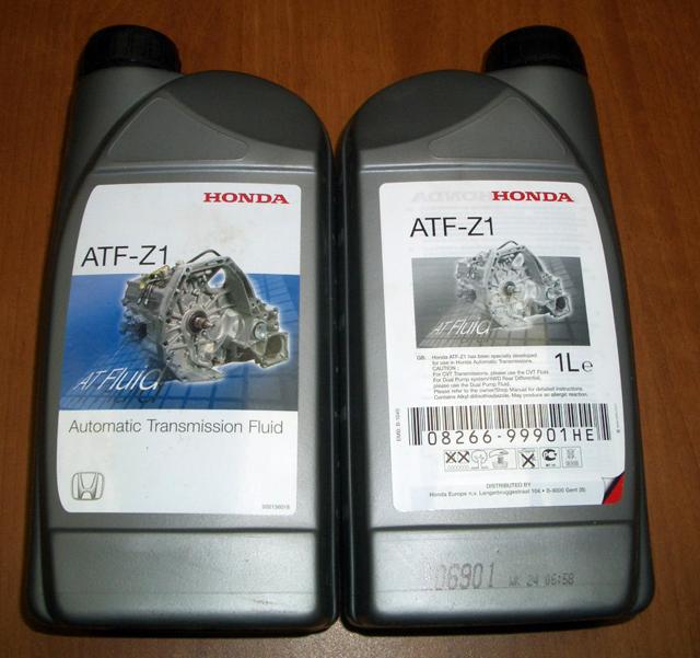 Honda-ATF-Z1-Yağ