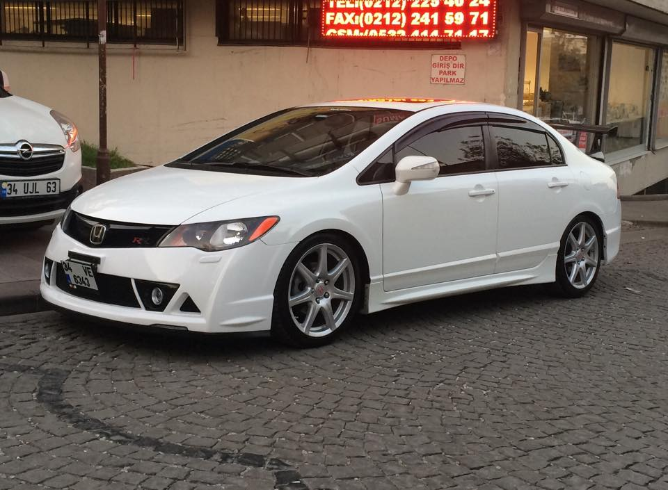 34VE6343 White Honda Civic Turkey