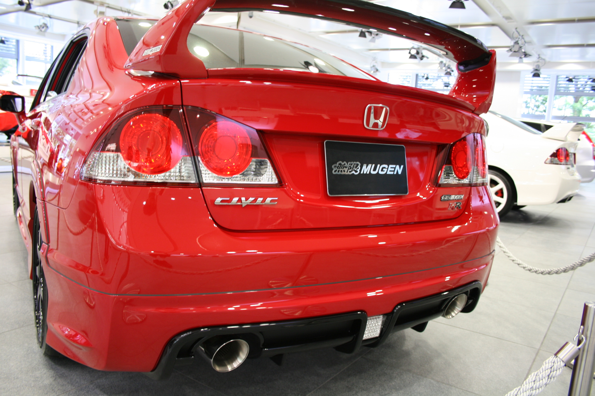 Honda Civic Mugen RR New Car